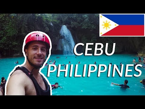 TRAVEL VLOG: CEBU, PHILIPPINES | BADIAN CANYONEERING, KAWASAN FALLS, MOALBOAL (Asia 2018 #24)