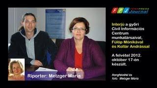 Interjú a győri Civil Információs Centrum munkatársaival Thumbnail