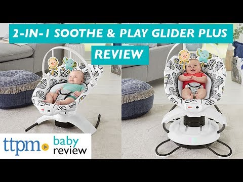 2-in-1 Soothe 'n Play Glider Plus From Fisher-Price