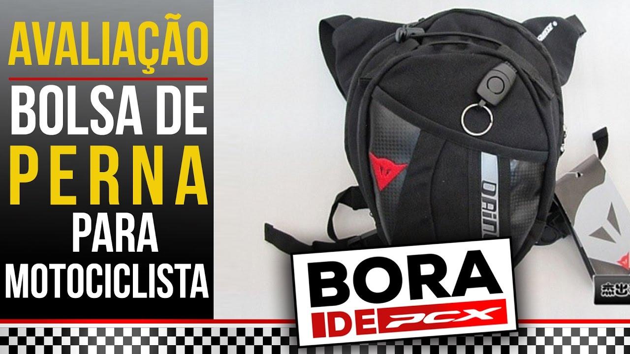 c7eef8b40 Avaliação da Bolsa de Perna para Motociclista - Bora de PCX -  32 ...