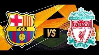 Barcelona vs Liverpool Live Stream (Champions League) EN VIVO Live Stats & Countdown