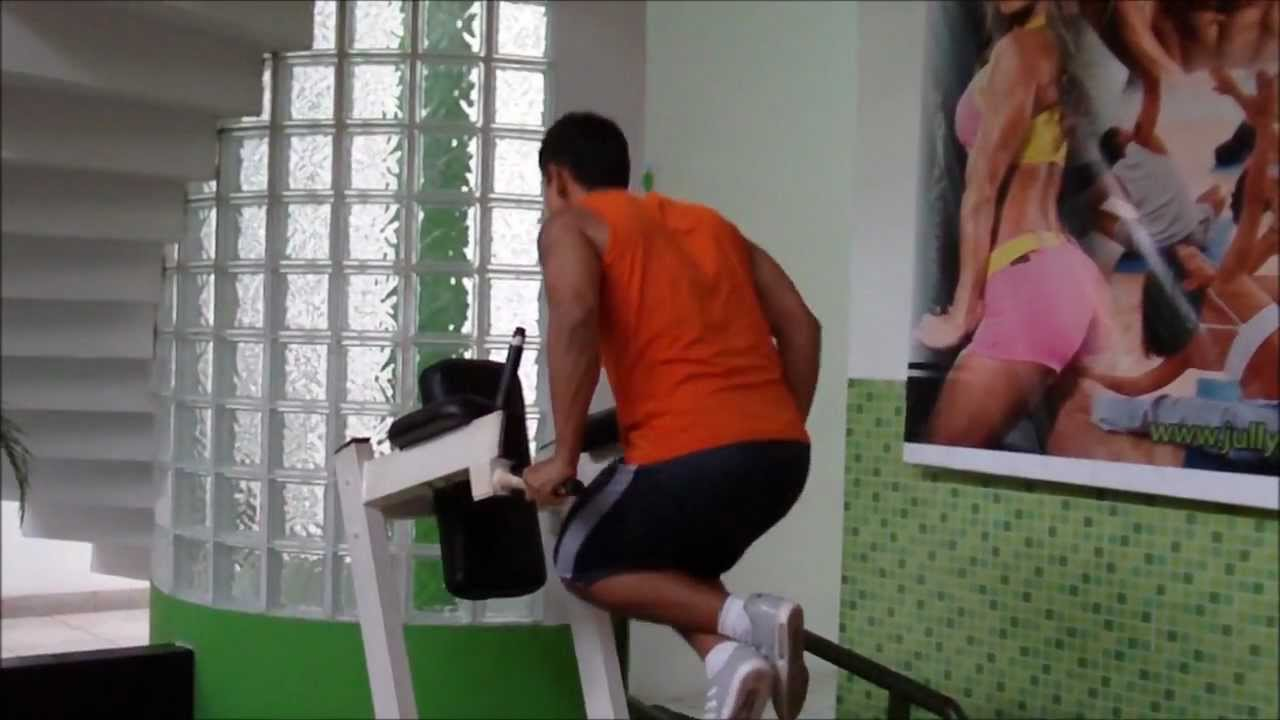 Fondos En Paralelas: Variaciones Para Pecho Y Para Triceps - YouTube