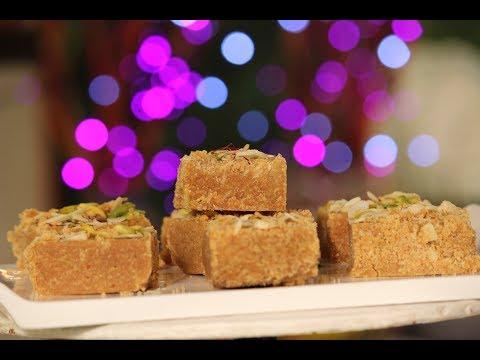 Mohanthal   Diwali Special Recipe   Sanjeev Kapoor Khazana