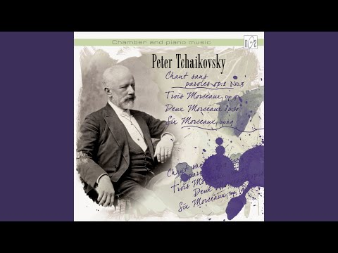 Peter Tchaikovsky. Theme original et variations, op.19 No.6