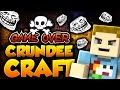 Minecraft: THE GAME OVER TROLL (Scary Prank) | CRUNDEE CRAFT