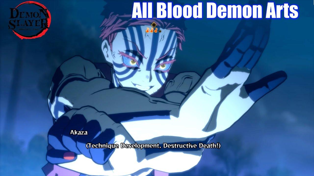 Demon Slayer All Blood Demon Arts & Finishers - Kimetsu No Yaiba The Hinokami Chronicles