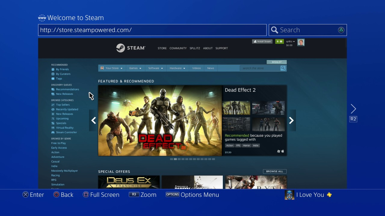steam ps4