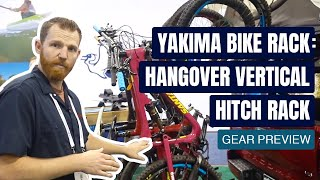 Yakima Bike Rack: HangOver Vertical Hitch Rack | Gear Preview