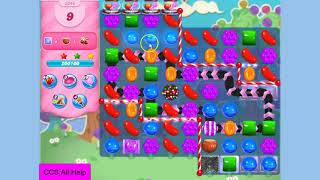 Candy Crush Saga Level 3346 30 moves NO BOOSTERS