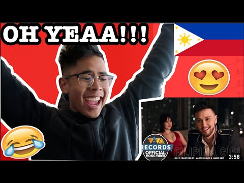 Filipina Girl — Billy Crawford feat. Marcus Davis & James Reid REACTION!