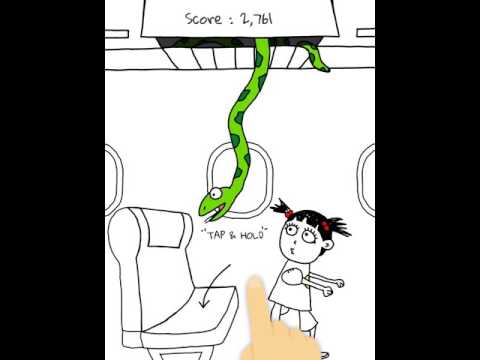 Snake on a Plane: Python Infiltrate Airplane apk screenshot