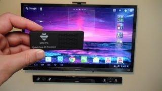Tronsmart MK908 Quad Core RK3188 CPU Android Mini PC Review
