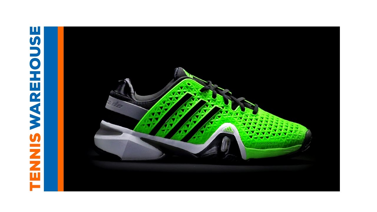 36450f4e9600 adidas Barricade 8+ Shoe Review - YouTube