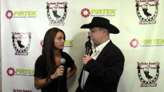 Video Jason Hetland talks with Lexi Mauney on the Rodeo Round Up at the 2013 PBR World Finals download MP3, 3GP, MP4, WEBM, AVI, FLV September 2018