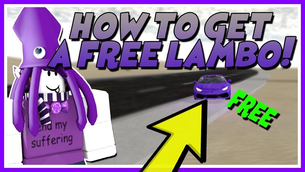 HOW TO GET FREE LAMBORGHINI IN VEHICLE SIMULATOR