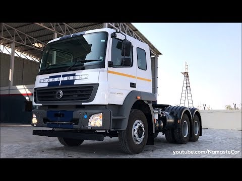 BharatBenz 5528T HD In-Power Tractor 2019 | Real-life review