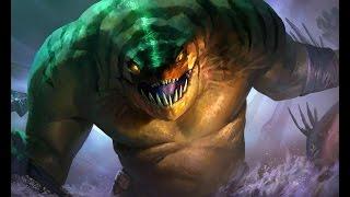 Гайд на Тайда Рыба Tidehunter Dota 2