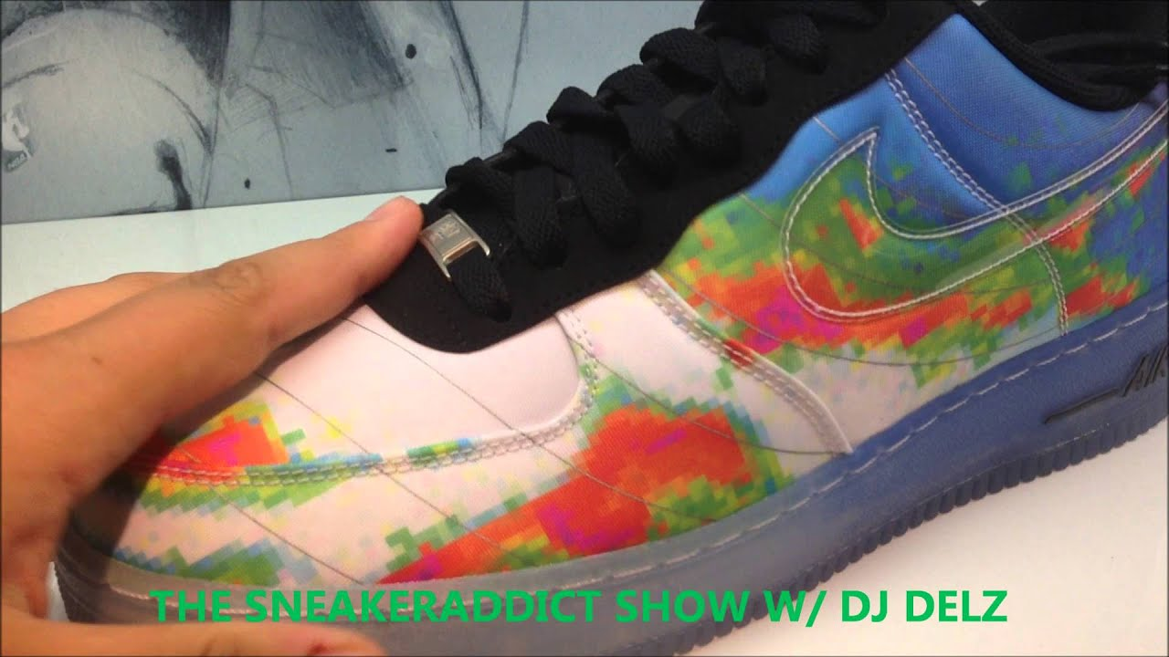 37fb0f54f14 Nike Air Force 1 Weatherman Sneaker  HotorNot With  DJDelz - YouTube