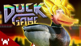 WHAT THE DUCK IS GOING ON | Duck Game w/ Friends