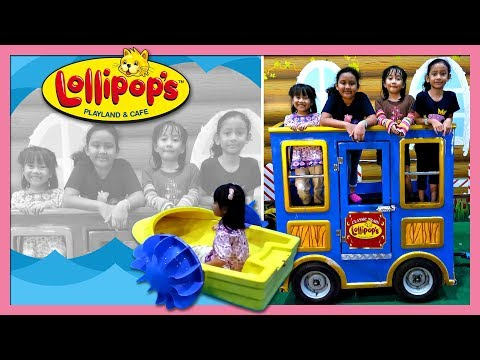 Playing at Lollipop's, Lotte Avenue, Ciputra World, Jakarta - Play Hard   Toy Joy Channel
