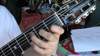 Cours de guitare - Eddy Mitchell : Couleur menthe à l