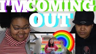 COMING OUT (ELLE MILLS STYLE)   REACTION