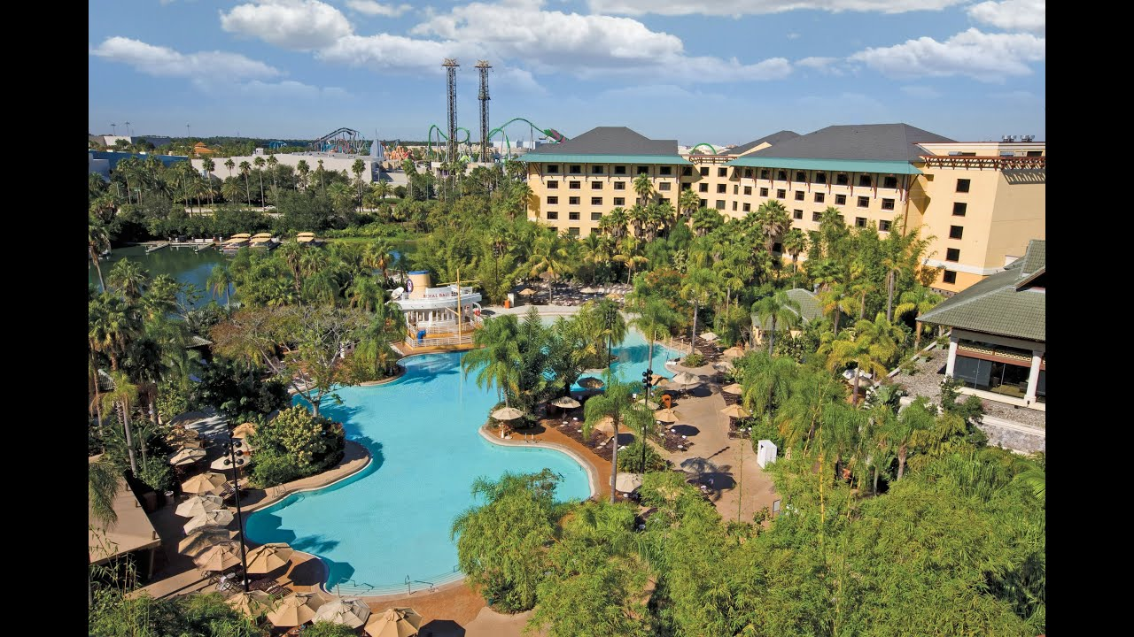 universal orlando loews royal pacific hotel 2013 tour and overview