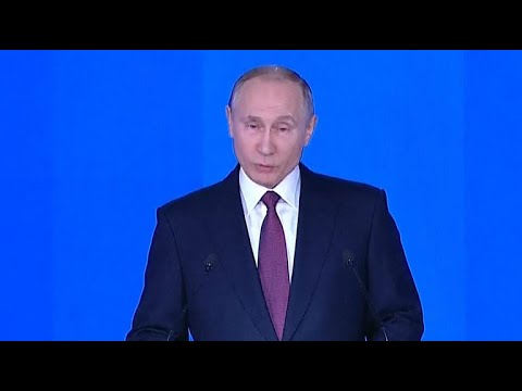 Putin touts Russia's nuclear arsenal