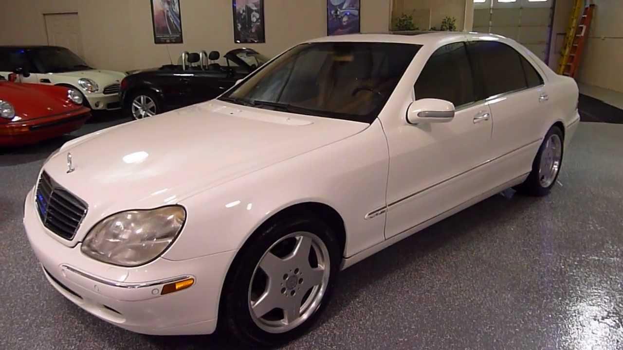 2002 mercede s500 white [ 1280 x 720 Pixel ]