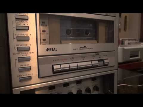 Sharp VZ-3000 Both sides sides record player cassette Radio Retro