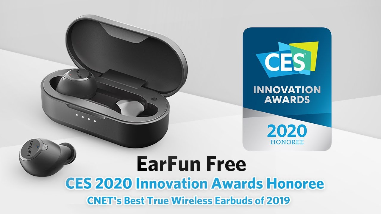 Best Of Ces 2020.Earfun Free S Highlights Ces 2020 Innovation Awards Honoree