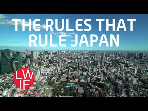 The Rules that Rule Japan