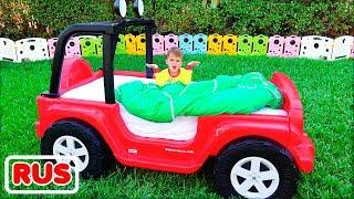 Влад и Никита и волшебные превращения детских машинок