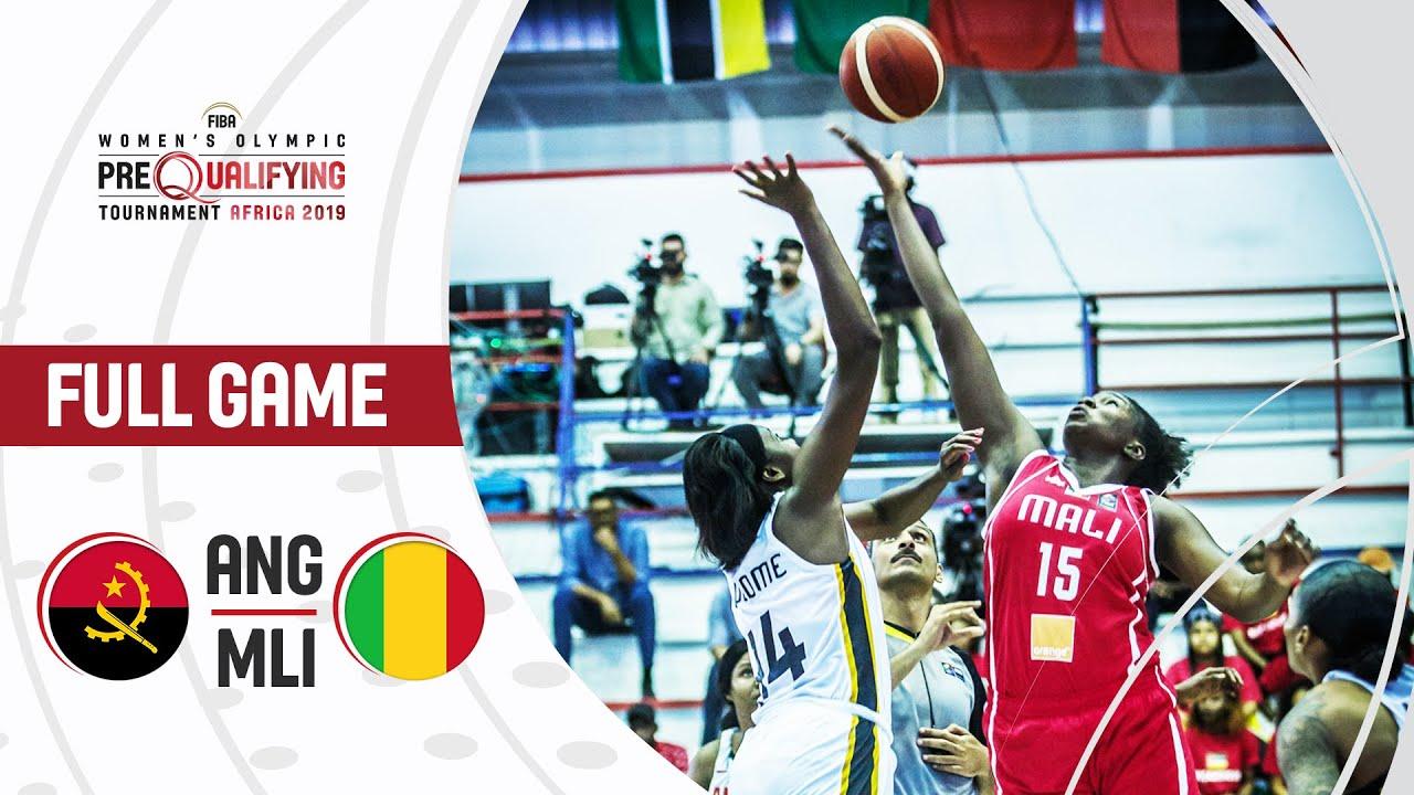 Angola v Mali - Full Game - FIBA Women's Olympic Pre