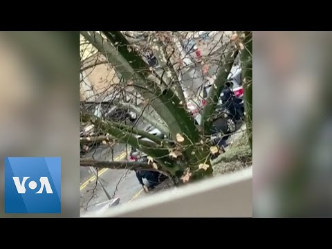 Resident Films New Jersey Gun Battle From Nearby Apartment