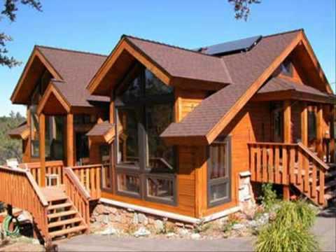 บ้านจากไม้ฝาเฌอร่า แบบบันไดไม้
