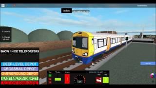 {ROBLOX} UK Train Simulator 2 Overground Line(Part 2)
