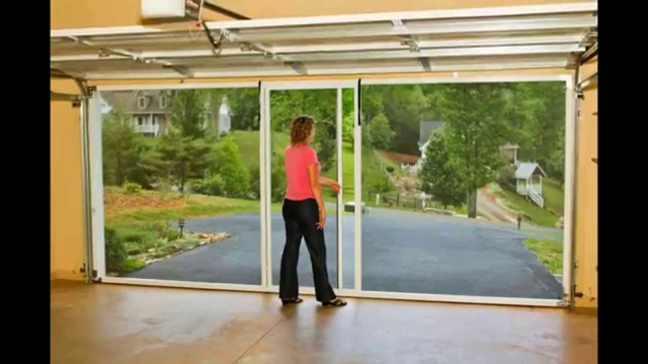 garage screen doors by homedecorelitezcom youtube - Universal Garage Door Opener Lowes