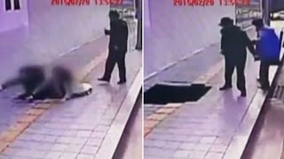 Couple Gets Swallowed Up By Sinkhole – Caught On Camera