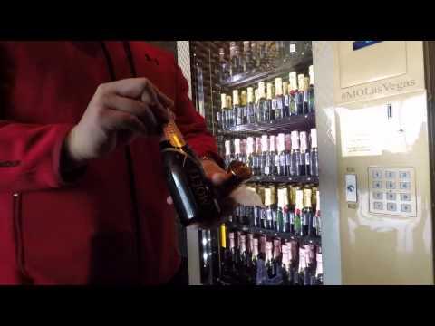 Moet Vending Machine