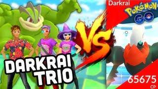 Darkrai Trio complete in Pokemon GO | 36 Machamp team