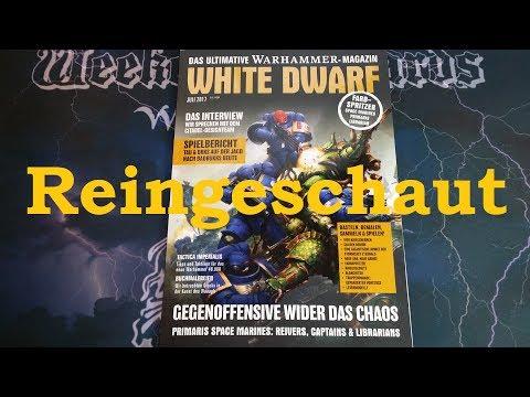 REINGESCHAUT: White Dwarf Juli 2017 (07/17)