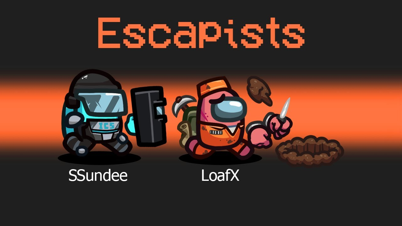 *NEW* ESCAPISTS GAMEMODE in AMONG US!