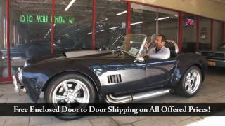 1967 A.C. Shelby Cobra  for sale with test drive, driving sounds, and walk through video