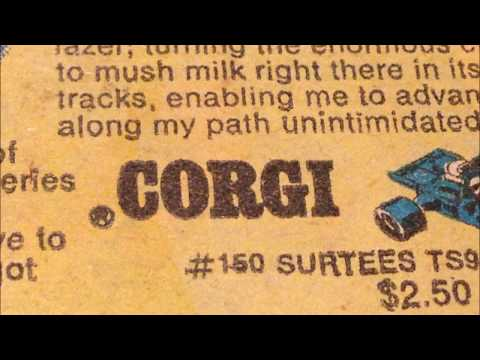 COMIC MAN PRODUCTIONS: CORGI BOY ADVENTURE CARS MARVEL WESTERN COMIC BOOK AD 1970