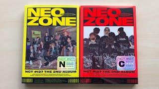 ♡Unboxing NCT 127 엔시티 127 2nd Studio Album NEO ZONE (N & C Ver.)♡