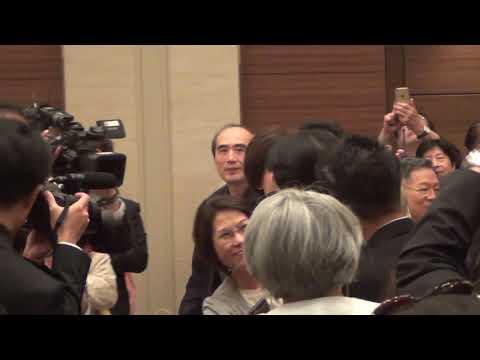 前行政院長賴清德在日本東京發表演講入場20190512