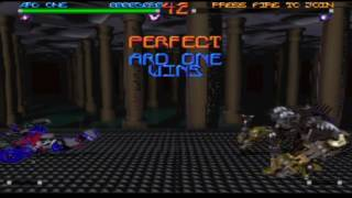 Rise 2: Resurrection (PS1) Hidden Bosses (1/5): Ard One gameplay.