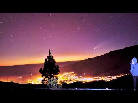 Cometa NEOWISE desde El Paso, La Palma, CANARIAS