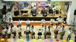 錦小学校吹奏楽部サンシャインマリンズ(2015.12.20エブリア)